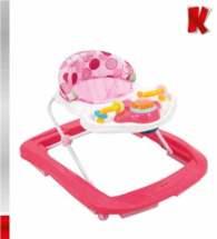 KIDDO Στράτα Walk n'Fun Kiddo - Pink 11016-2