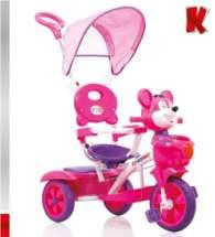KIDDO Ποδηλατάκι Teddy Bear Teddy Bear Fuchsia-Purple Kiddo 12013-2
