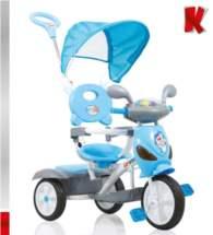 KIDDO Ποδηλατάκι Vespa Blue Kiddo 12012-5