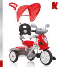 KIDDO Ποδηλατάκι Vespa Red-Black Kiddo 12012-6