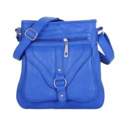Τσάντα χεριού - ώμου JC W-01 Blue