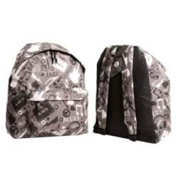 backpack σακίδιο πλάτης Benzi BZ-4054 GREY