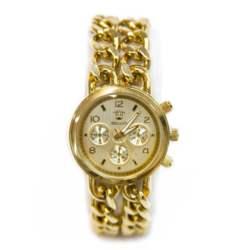 Ρολόι faux bijoux χρυσο με αλυσιδες