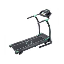 Fitness 7007 Ηλεκτρικός Διάδρομος γυμναστικής Ισχύς μοτέρ: 1100W, Μέγιστο Βάρος 120kg Ταχύτητα: 0.8-14 χλμ/ώρα σε Μαύρο/Βεραμάν χρώμα - Fitness