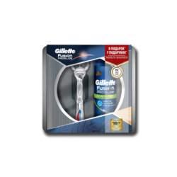 Συλλεκτικό Σετ Gillette Fusion Proglide Power και αφρός Ξυρίσματος 200ml σε μεταλλική συσκευασία Δώρου, Gillette - Gillette