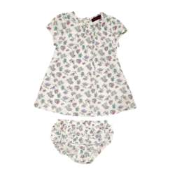 JUICY COUTURE KIDS - Βρεφικό σετ JUICY COUTURE λευκό