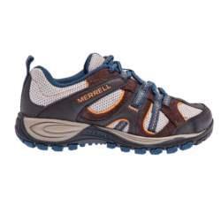 MERRELL - Παιδικά παπούτσια Yokota Trail Ventilator MERREL καφέ