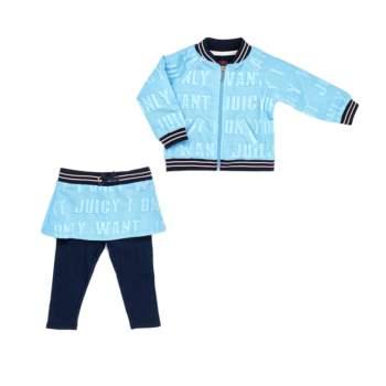 JUICY COUTURE KIDS - Βρεφικό σετ JUICY COUTURE KIDS μπλε