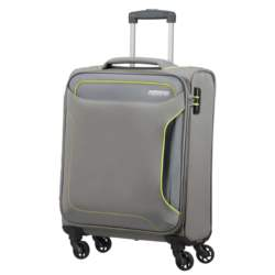 AMERICAN TOURISTER - Βαλίτσα καμπίνας HOLIDAY HEAT SPINNER 55/20 γκρι