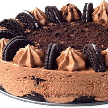 Τούρτα cheesecake με oreo χωρίς ψήσιμο