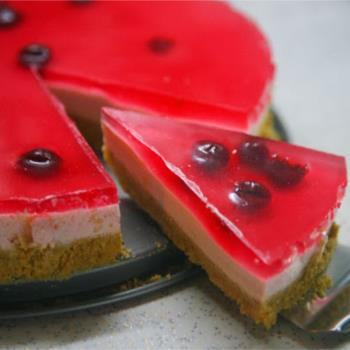 Cheesecake με ζελέ