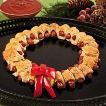 Λουκανικοπιτάκια με τέλεια σπιτική ζύμη