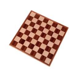 Ξύλινη Σκακιέρα 36cm Μαόνι - Δρυς