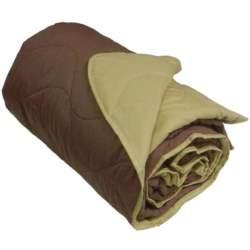 Κουβερλί Microfiber Μονό Καφέ-Μπεζ - OEM - brown-beige-k1