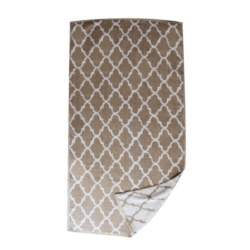 Πετσέτα Θαλάσσης Βαμβακερή Μπεζ - OEM - petseta24-beige
