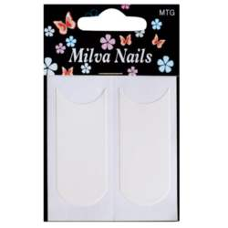 Milva Nails, Χαρτάκια για Γαλλικό Μανικιούρ