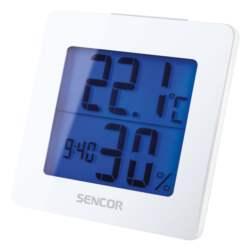 Θερμόμετρο-Ξυπνητήρι Sencor SWS 1500 W Λευκό