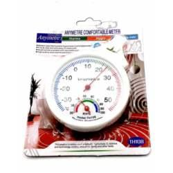 Θερμόμετρο/Υγρόμετρο Αναλογικό Πλαστικό Home&Style 735666-200/50