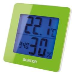 Θερμόμετρο-Ξυπνητήρι Sencor SWS 1500 GN Πράινο