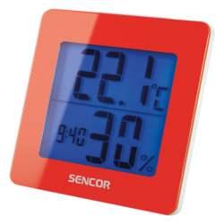 Θερμόμετρο-Ξυπνητήρι Sencor SWS 1500 RD Κόκκινο