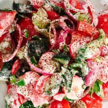 Λιβανέζικη σαλάτα fattoush