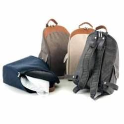 Τσάντα αλλαξιέρα Moon - Stone Melange