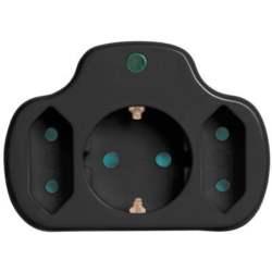Πολύπριζο Προστασίας 2+1 Θέσεων SAS PowerStrip 100-15-118